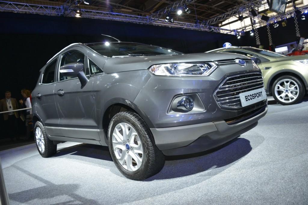 Ford представил в Париже кроссовер …