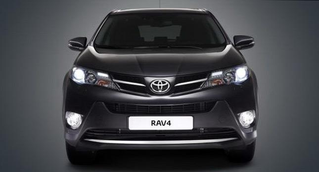 หลุดรอบ2! เผยภาพ 2013 Toyota RAV4 SUV