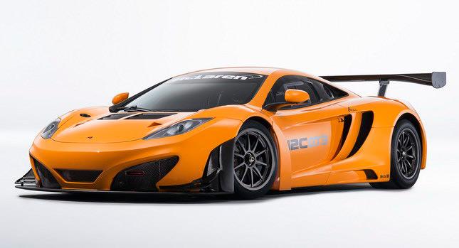 """รถแรงแข่งเทพ! McLaren เปิดตัวรถ """"MP4-12C GT3″ สำหรับแข่งใน ..."""