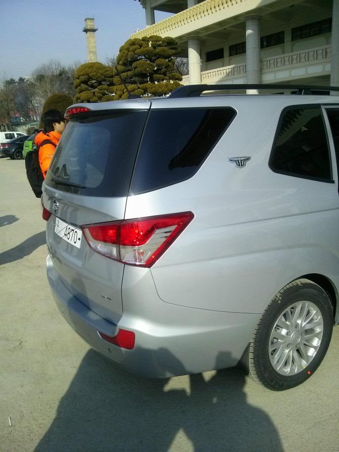"Ssangyong เปิดตัวรถรุ่นใหม่ "" 2014"