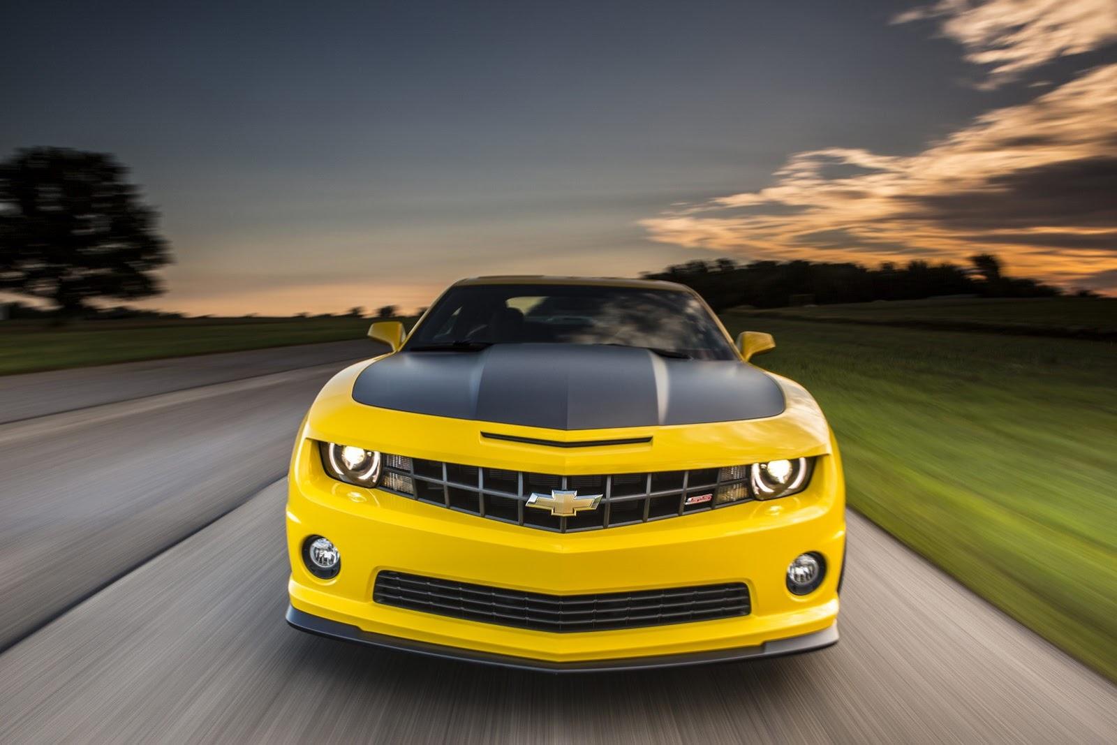 Teaser ครั้งแรกของ 2014 Chevrolet Camaro