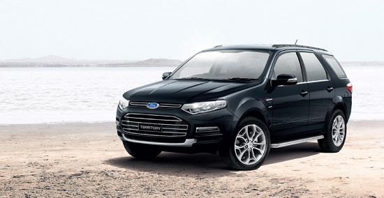 All-New Ford Territory 2013-2014 ราคา ฟอร์ด