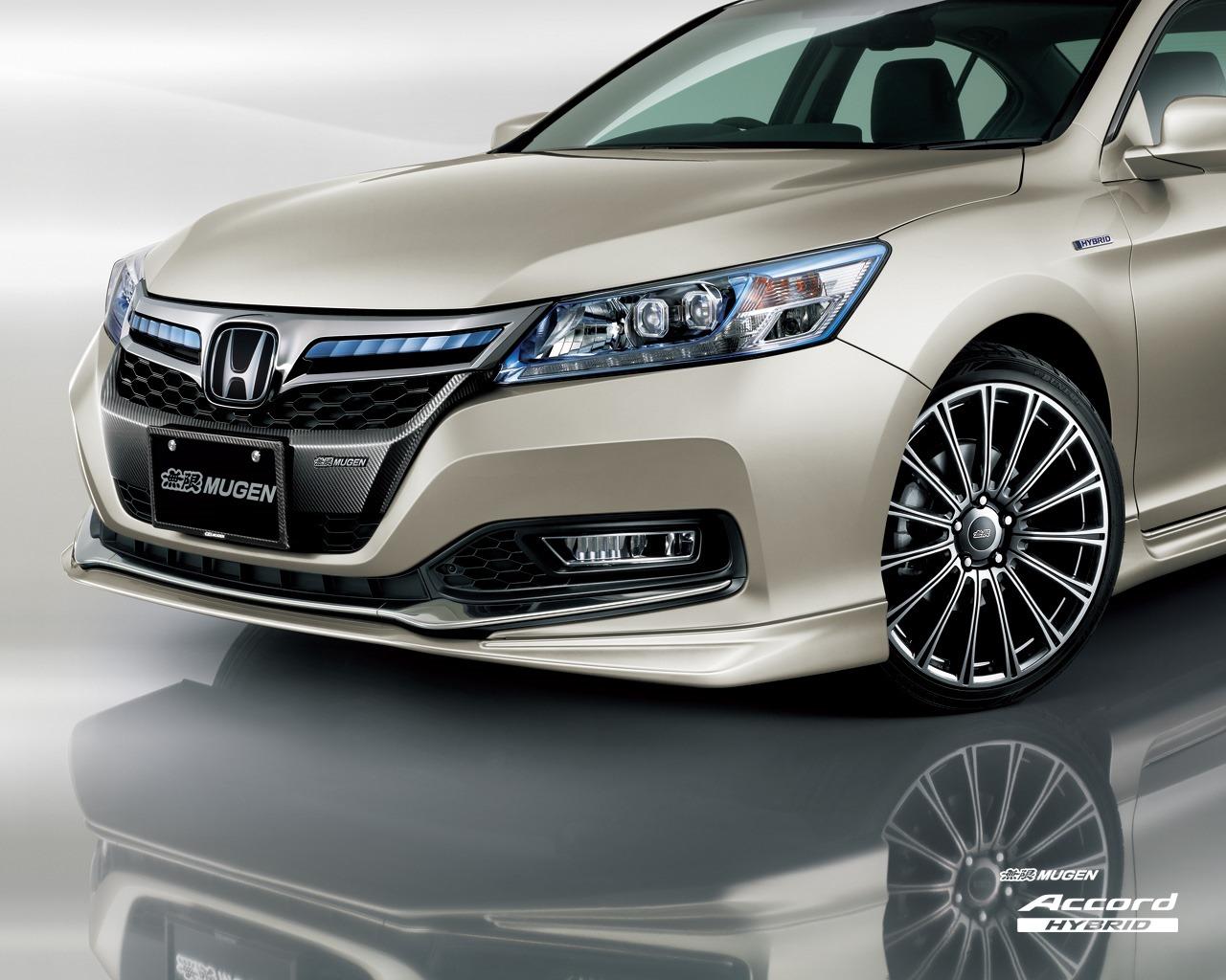 Honda Accord Hybrid โฉมใหม่ แต่งโดย Mugen รถใหม่ 2018