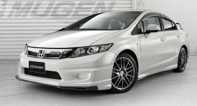 เรียบแต่หรู ค่ายแต่งรถ Mugen เผยโฉม Quot Honda Civic Sedan