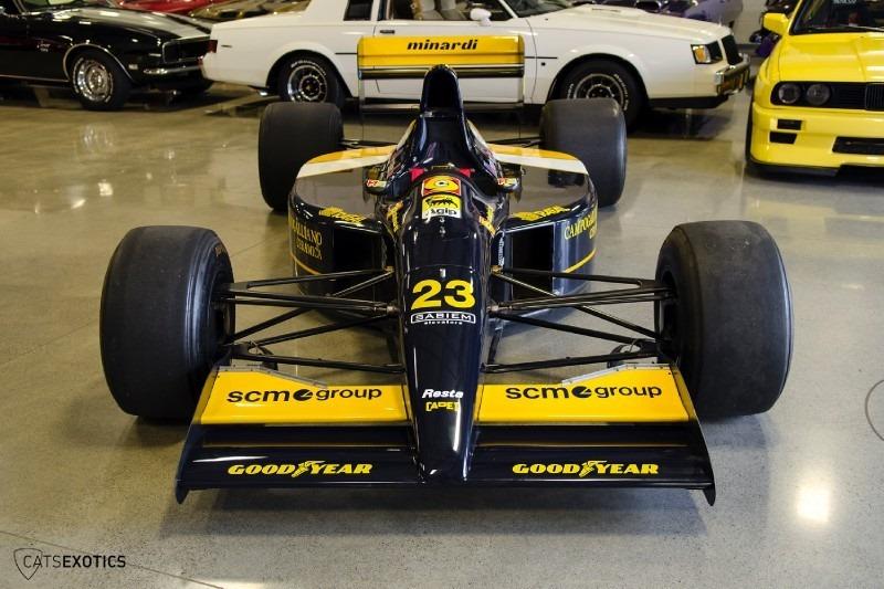 ประกาศขายรถแบบ 1992 Lamborghini Minardi F1 แล้วผ่านทาง ...