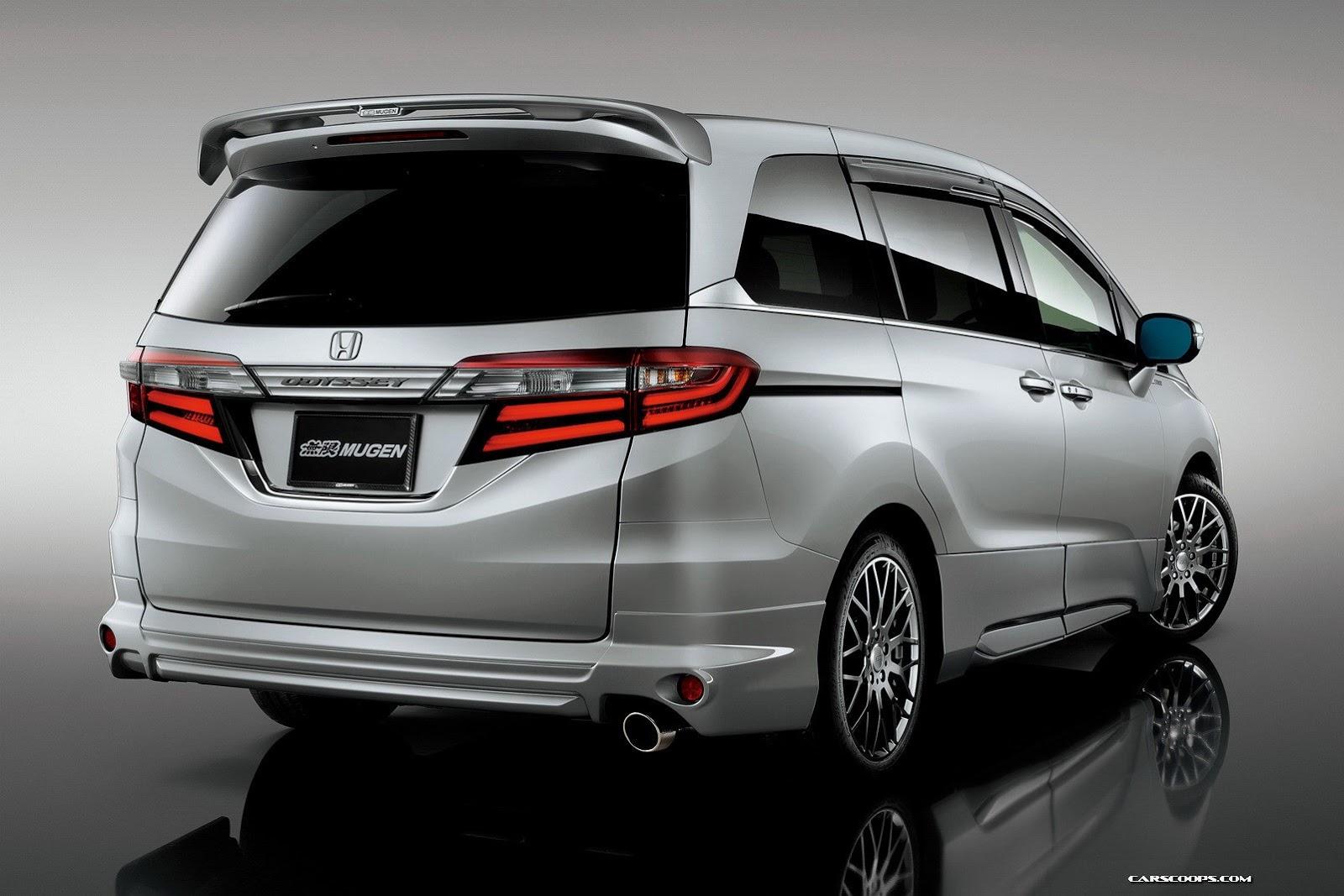 """ค่ายแต่งรถสุดดัง Megen เปิดตัว """"JDM 2014 Honda Odyssey ..."""