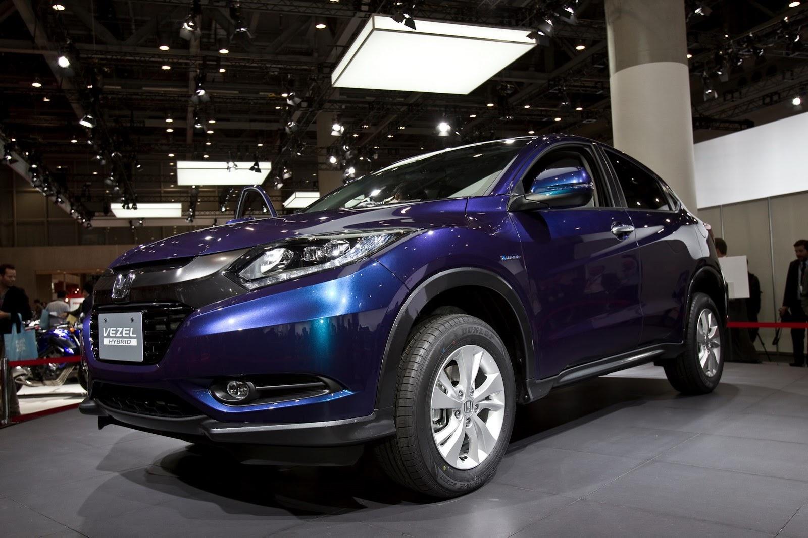 Honda เตรียมตีตลาดรถบ้านเกิดด้วยเจ้า Quot Vezel Quot Suv คันเล็ก