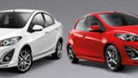 โปรโมชั่น Mazda 2 ผ่อนเพียง 5,555. หรือ รับดอกเบี้ยพิเศษ 0.55% นาน 5 ปี ฟรี ประกันภัยชั้นหนึ่ง โปรโมชั่น มาสด้า 2 มาสด้า 2 4 ประตู และ 5 ประตู - ผ่อนเพียง 5,555. *คำนวณจากรุ่น Elegance Spirit V...