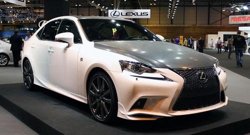 """Lexus เตรียมจับมือ TRD เปิดตัวรถสปอร์ตแบบ """"IS F-Sport ..."""