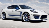 """TopCar เอาใจสาวก Porsche Panamera เปิดตัวชุดแต่งแบบ """"Stingray GTR"""" หากคุณคิดว่ารถสปอร์ตสุดแกร่งอย่างเจ้า """"Porsche Panamera"""" นั้นยังธรรมดาเกินไปและต้องการจะแต่งรถเพิ่มขึ้นไปอีกนั้นจะต้องใช้ชุดแต่งพิเศษจากทาง Russia's TopCar ชุดแต่งมีชื่อเรียกๆกันว่า """"The Stingray GTR"""" โดยมีราคารวมอยู่ที่ 40,700 ปอนด์ (52,700 ดอลล่าร์) ในแบบธรรมดา และ 47,150 ปอนด์ (61,100 ดอลลล่าร์) ในแบบ carbon..."""