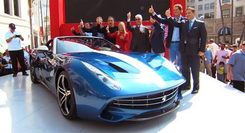 """Ferrariขายสปอร์ต """"458 Speciale"""" คันแรกแล้วที่ $ 900,000 พร้อมกับโชว์รถแบบ F60 America Ferrari ค่ายรถสปอร์ตเก่าและมีชื่อเสียงจากประเทศอิตาลีนั้นล่าสุดได้ฉลองครบรอบ 60 ปีของแบรนด์ในตลาดสหรัฐอเมริกาในปาร์ตี้ที่ Beverly Hills โดยมีการประมูลรถแบบ """" F60 America"""" ที่ตกแต่งมาแล้วด้วย โดยงานที่ Beverly Hills City Hall นั้นนอกจากพวกเขาจะเปิดประมูลรถแบบ """"F60 America"""" ดังกล่าวแล้วนั้น พวกเขายังได้ขายรถแบบ..."""