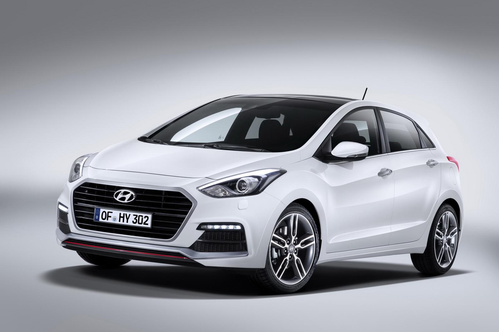 Hyundai อัพเดทรถแบบ I30 พร้อมใช้เครื่องยนต์ 1 6 ลิตรแบบ