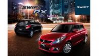 ใหม่ All New Suzuki Swift RX 2014-2015 ราคา ซูซูกิ สวิฟท์ ตารางราคา-ผ่อน-ดาวน์ Suzuki Swift RX สนุก…กับเส้นทางใหม่ที่ตื่นเต้นกว่า ราคา 599,000. Suzuki Swift RX คอมแพ็คคาร์สไตล์สปอร์ตโดดเด่นด้วยดีไซน์ พร้อมเพิ่มฟังก์ชั่นสมรรถนะการขับขี่ที่เหนือกว่าเปลี่ยนทุกเส้นทางการใช้ชีวิตให้สนุกสะใจกว่าเดิม ภายในกว้างสบาย เท่แบบสปอร์ต ด้วยดีไซน์ภายใน ที่สวยเฉี่ยว หรูมีสไตล์ คงความเป็นเอกลักษณ์เฉพาะของสวิฟท์ เพลิดเพลินกับเพลงโปรดง่ายๆ ด้วยปุ่มควบคุมเครื่องเสียงบนพวงมาลัย...