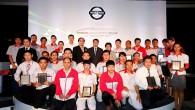 """นิสสัน จัดแข่งขันทักษะระดับประเทศ ประจำปี 2557 กรุงเทพมหานคร: บริษัท นิสสัน มอเตอร์ (ประเทศไทย) จำกัด จัดกิจกรรมการแข่งขันทักษะระดับประเทศ ประจำปี 2557 """"NMT SKILLS CONTEST 2014"""" รอบชิงชนะเลิศระดับประเทศขึ้น ณ บริษัท สยามนิสสัน บีเคเค จำกัด สาขาเทพารักษ์ จังหวัดสมุทรปราการ เพื่อเสริมสร้างความแข็งแกร่งและพัฒนาศักยภาพทางทักษะของทีมบริการลูกค้าก่อนและหลังการขาย รวมทั้งทีมช่างผู้ดูแลและซ่อมบำรุง ให้สามารถให้การบริการได้อย่างเต็มประสิทธิภาพและถูกต้องตามมาตรฐานสากล มุ่งหวังให้ลูกค้าเดิมและใหม่ได้รับการบริการที่มีคุณภาพและสร้างความพึงพอใจอย่างสูงสุด ตอกย้ำกลยุทธ์การแนะนำผลิตภัณฑ์ใหม่อย่างต่อเนื่องและขยายศูนย์บริการนิสสันให้ครอบคลุมทุกพื้นที่กว่า..."""