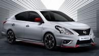 """Nissan มาเลเซียเปิดตัวชุดแต่ง """"Nismo Almera"""" Nissan Malaysia ( Nissan ประจำประเทศมาเลเซีย) ล่าสุดนั้นได้เปิดตัวรถแบบ Almera (รู้จักในชื่อ Sunny ในเอเชียและ Versa ในอเมริกาเหนือ) ในโฉมการแต่งแบบ Nismo version ออกมาแล้วสำหรับขายในท้องถิ่นเท่านั้น สำหรับทีมงานของ Nissan performance division นั้นไม่ได้เข้ามายุ่งเกี่ยวกับเรื่องเครื่องยนต์แต่อย่างใด แต่จะมุ่งเน้นไปที่การออกแบบแพ็คเกจของ Nismo ให้ดุดันมากยิ่งขึ้น เช่น กันชนหน้าพร้อมสปอยเลอร์แบบชิน,..."""