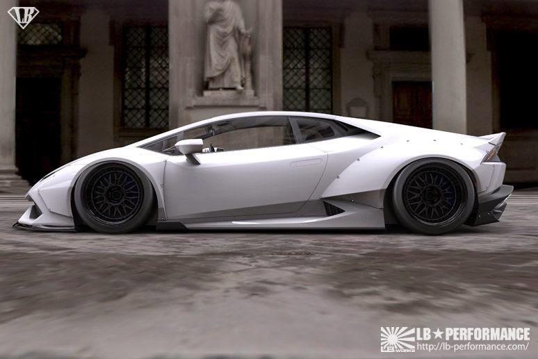 ทีมงาน Liberty Walk จัดให้เปิดตัวสปอร์ต Quot Lamborghini
