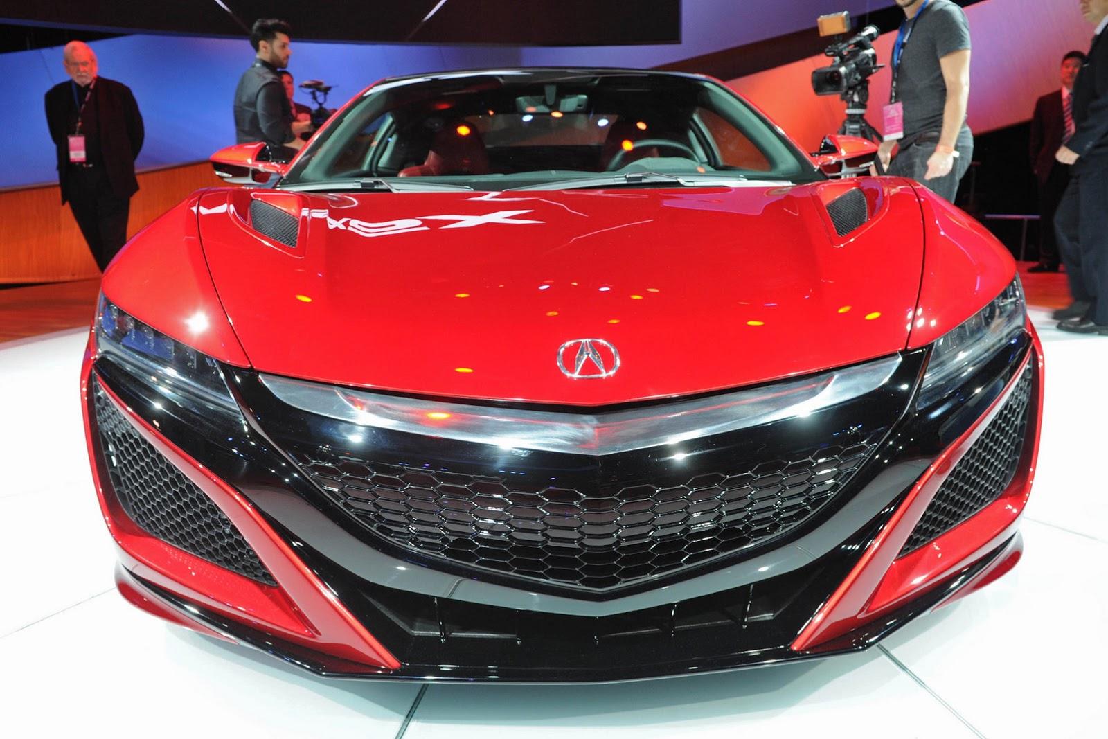 """รถสปอร์ต """"2016 Acura NSX"""" เตรียมกลับมาแล้วสั่งซื้อผ่าน ..."""