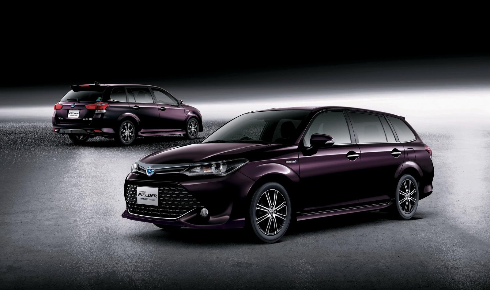 Toyota เปิดตัวการแต่งสไตล์ JDM ของรถแบบ Corolla Fielder ...