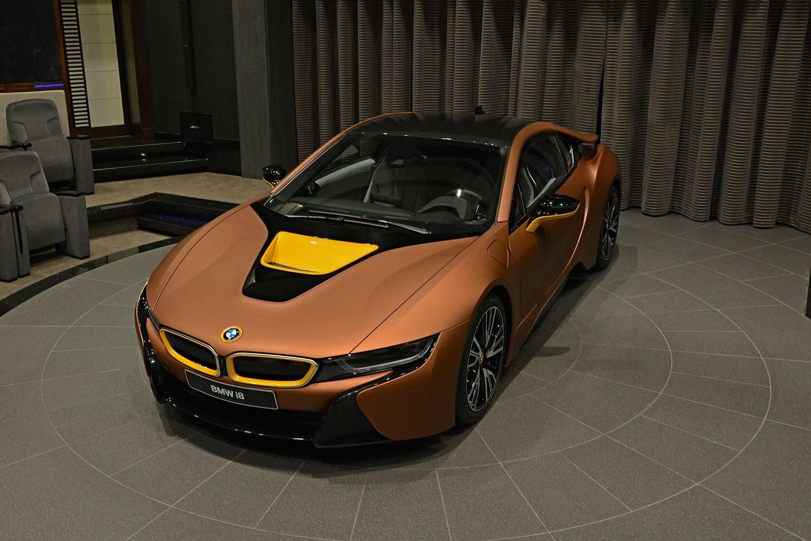 เผยโฉม Bmw I8 จากโชว์รูมใน Abi Dhabi สุดสวยงาม รถใหม่