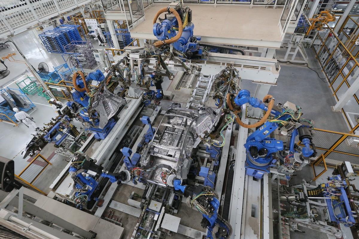 Smart GW Robot_Welding Line
