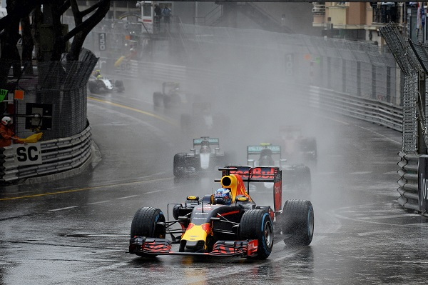 RICCIARDO Daniel (aus) Red Bull Tag Heuer RB12 action during the 2016 Formula One World Championship, Grand Prix of Monaco from on May 25 to 29 ,in Monaco - Photo Eric Vargiolu / DPPI
