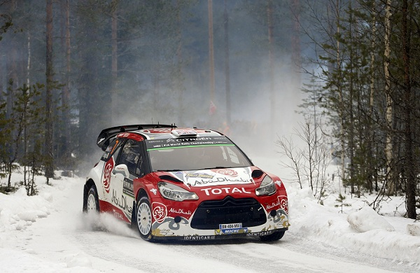 07	Abu Dhabi Total World Rally Team, Meeke Kris, Nagle Paul, Citroen, Ds3 Wrc, Action during the 2016 WRC World Rally Car Championship, Sweden rally from February  12 to 14, at Hagfors - Photo Francois Baudin / DPPI