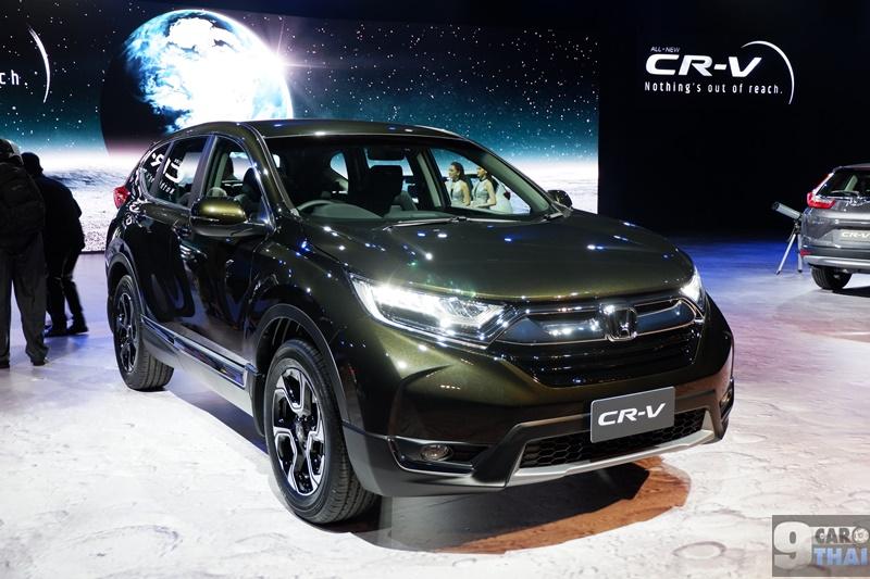 ใหม่ All New Honda Crv 2018 2019 ราคา ฮอนด้า ซีอาร์วี