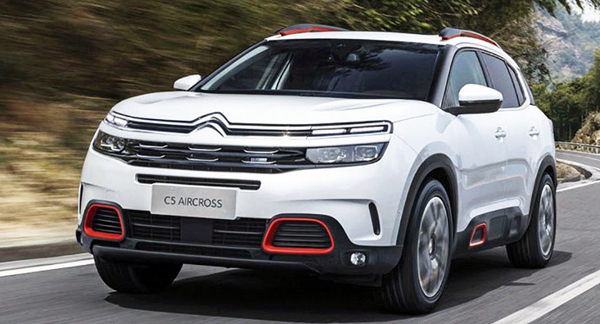 citroen c5 aircross suv 2018 2019. Black Bedroom Furniture Sets. Home Design Ideas