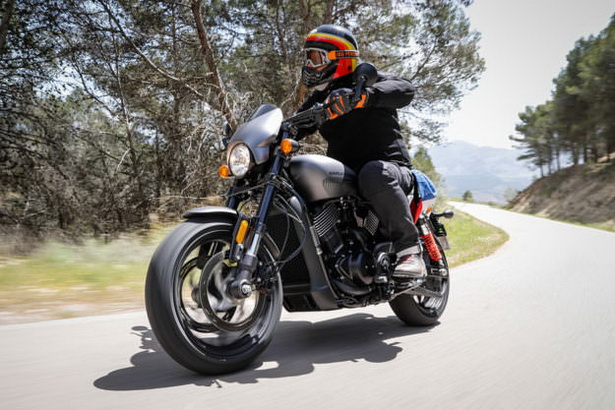 Harley Davidson Street Rod 750 2017 Quot มาดเข้ม จากอเมริกา