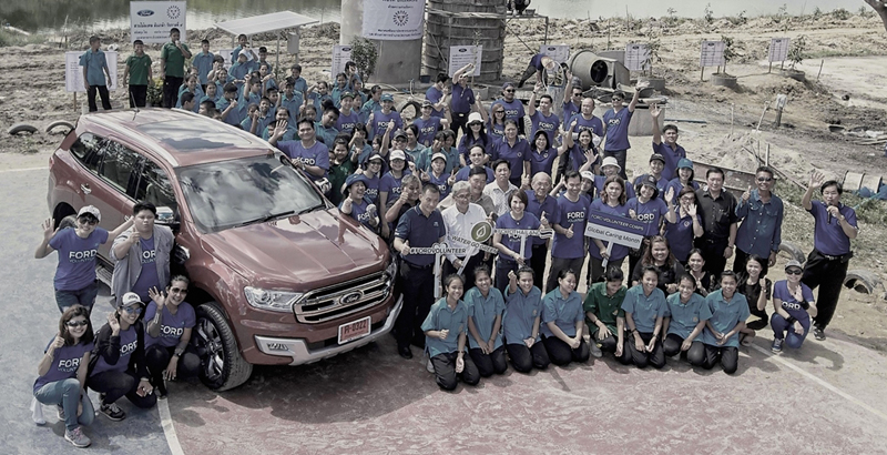 Ford Water Go Green in Rayong (0)