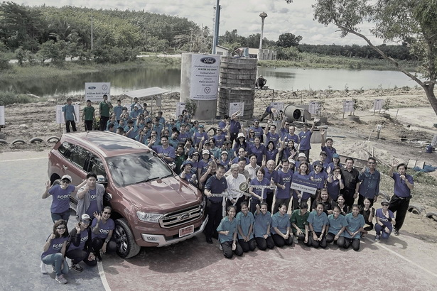 Ford Water Go Green in Rayong (1)