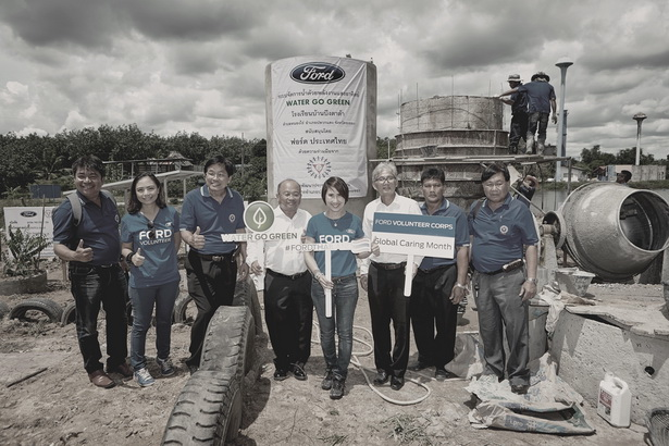 Ford Water Go Green in Rayong (6)