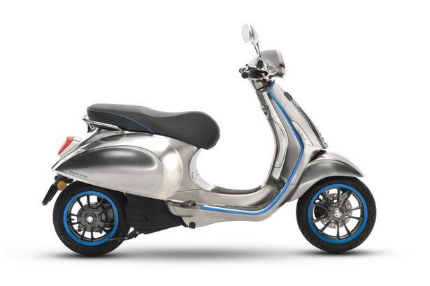 จัดปายยยย Vespa เปิดตัวรถแบบพลังงานไฟฟ้าอย่าง Quot Elettrica