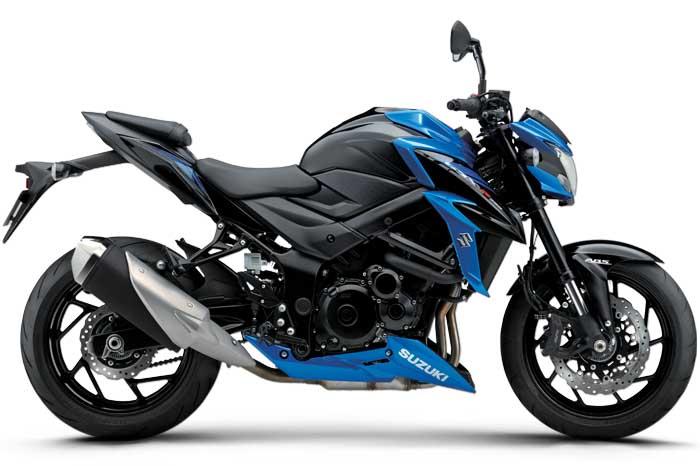 SUZUKI GSX-S750 ABS blue