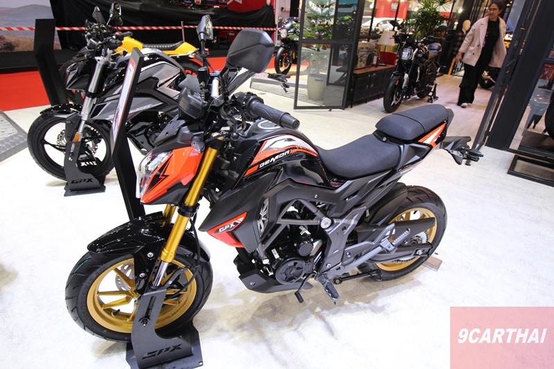 GPX Demon 150 GR FI 2020 มอเตอร์ไซค์ราคา 66,800 บาท จีพี