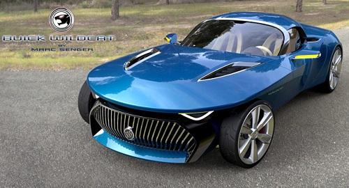 "Buick เปิดตัว ""Wildcat Design Concept"" เครื่องยนต์สุดแรง ..."