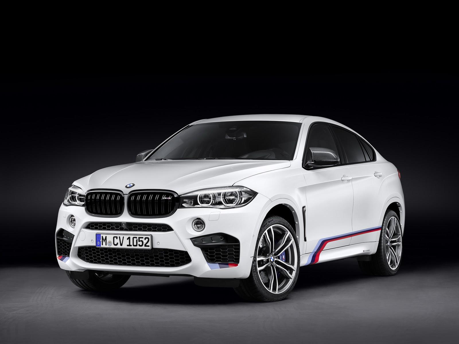 m performance เผยโฉมชุดแต่งทั้ง bmw x5m และ x6m  รถใหม่