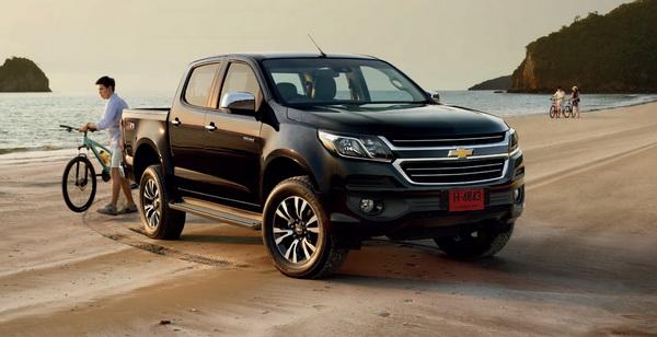 ใหม่ Chevrolet Colorado 2020-2021 ราคา เชฟโรเลต โคโลราโด ...