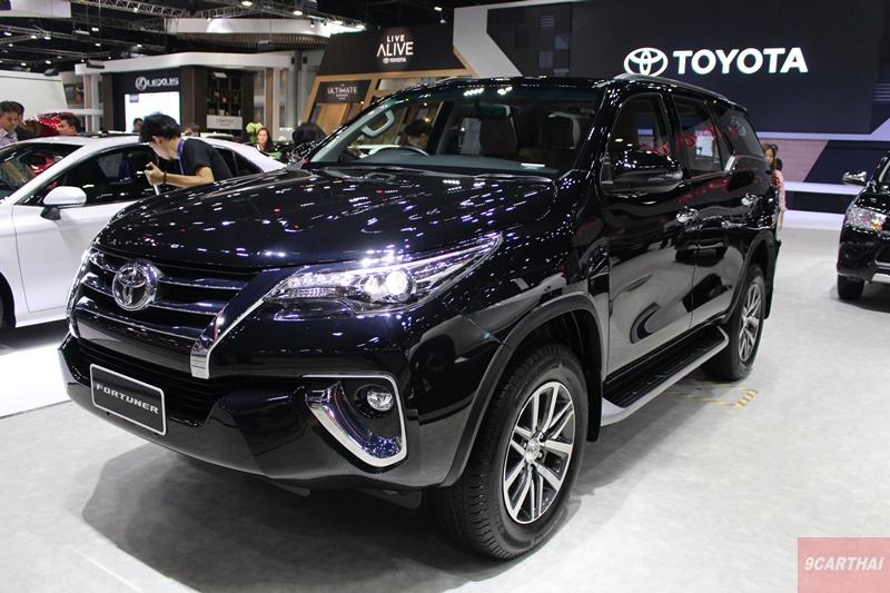 subaru legacy new toyota fortuner 2020 thailand