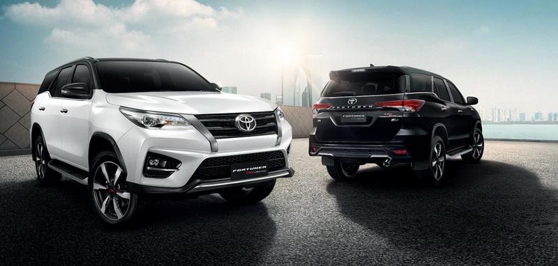 ใหม่ Toyota Fortuner TRD Sportivo 2020-2021 ราคา โตโยต้า ...